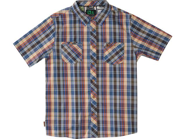 Hippy Tree Rochester Camisa Hombre, blue